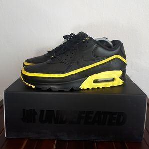 """NIKE AIR MAX 90 UNDEFEATED """"BLACK/OPTI YELLOW"""""""